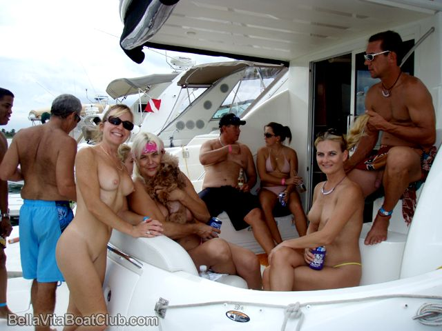 Naked home video boat bash part 1